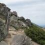 銀仙台から赤岳、白雲岳