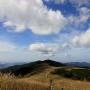 生石高原周回:ススキの高原