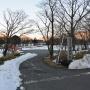 赤城山 凍結の大沼、小沼横断散策