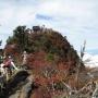面河登山口から二の森・西冠岳。天狗岳周回