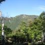 行者還トンネル西口から弥山・八経ヶ岳