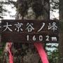 日原鍾乳洞〜タワ尾根〜水松山〜天祖山 周回ルート