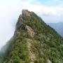 バリルートの東稜登って石鎚山を面河に降りる