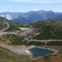 乗鞍スキー場から乗鞍岳