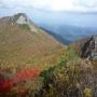 甲川から稜線へ、矢筈ヶ山時計回り周回ルート