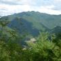 栃木沢登り口より砥沢方面を目指し山頂より尾根伝いに明神山西峰経由で明神山山頂へ下りは栃木沢ルートで降りる