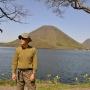 榛名富士からの榛名湖一周
